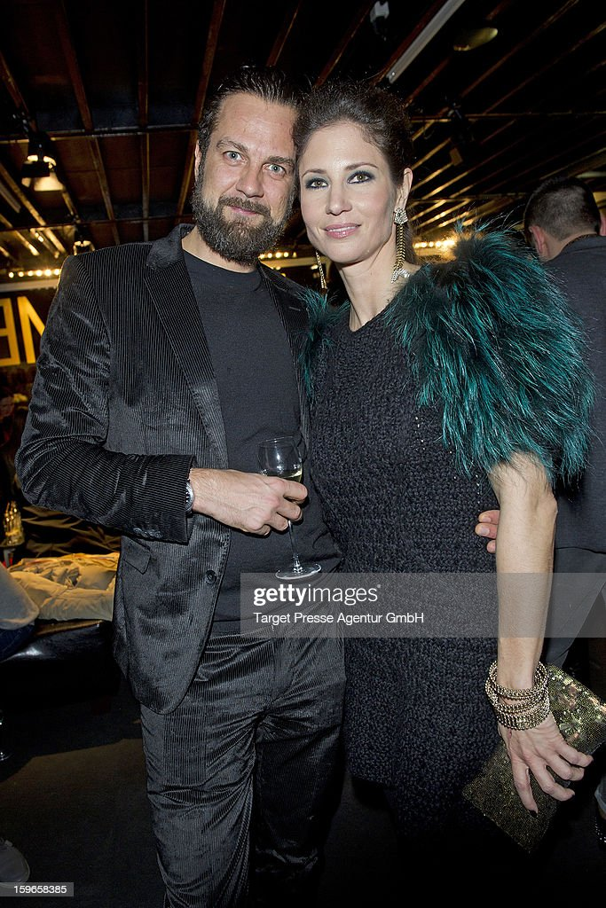 Guests attend the Brand Media Fashion Cocktail with Madame, L'Officiel Hommes, Petra and Jolie at Platoon during the Mercedes-Benz Fashion Week Autumn/Winter 2013/14 on January 17, 2013 in Berlin, Germany.