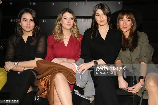 Guests attend the Brand Who show during the MercedesBenz Fashion Week Istanbul March 2019 at Zorlu Center on March 20 2019 in Istanbul Turkey