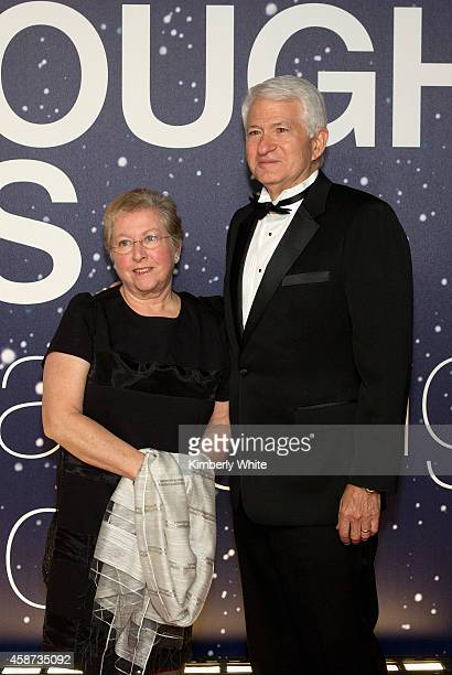 Guests attend the Breakthrough Prize Awards Ceremony Hosted By Seth MacFarlane at NASA Ames Research Center on November 9 2014 in Mountain View...