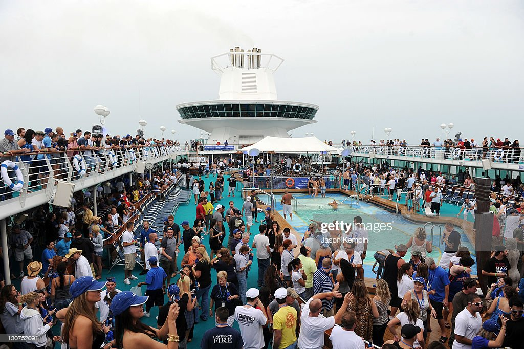 Guests Attend The Bud Light Port Paradise Cruise Through The Caribbean On  October 28, 2011 Nice Design