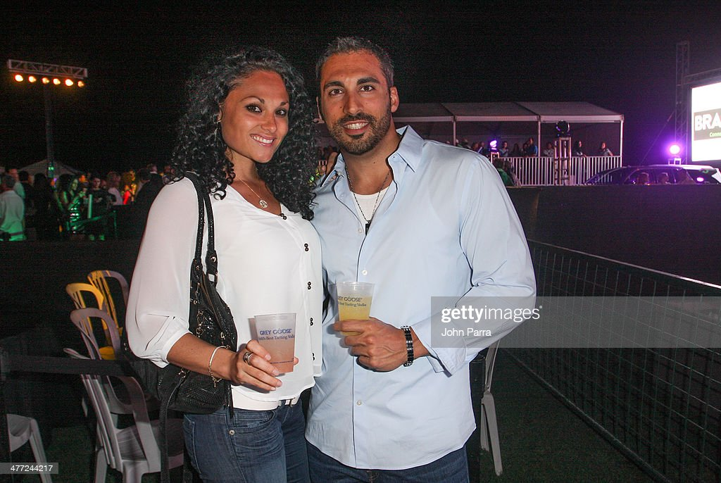 Guests attend the Carolina Herrera Fashion Show with GREY GOOSE Vodka at the Cadillac Championship at Trump National Doral on March 7, 2014 in Doral, Florida.