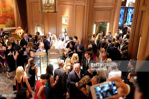 Guests attend the Cartier Fifth Avenue Grand Reopening Event at the Cartier Mansion on September 7 2016 in New York City