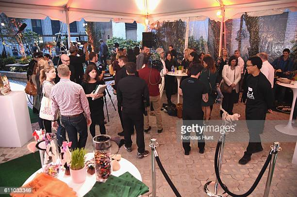 Guests attend the celebration of the launch of Rachael Ray's Nutrish DISH with a Puppy Party on September 28, 2016 in New York City.
