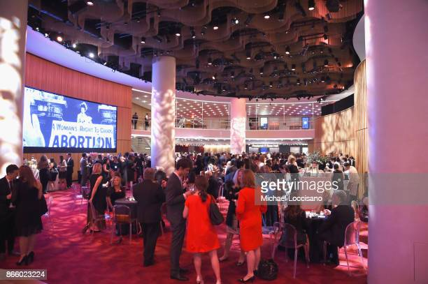 Guests attend The Center For Reproductive Rights Hosts 25th Anniversary Celebration on October 24 2017 in New York City