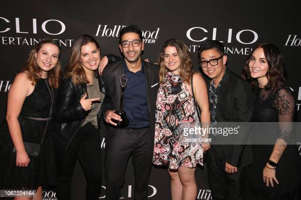 Guests attend the Clio Entertainment Awards 2018 at Dolby Theatre on November 15 2018 in Hollywood California