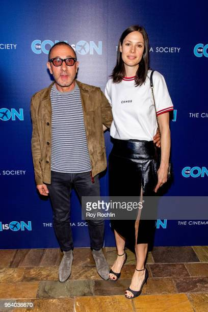 Guests attend 'The Con Is On' New York Screening by the Cinema Society at The Roxy Cinema on May 2 2018 in New York City