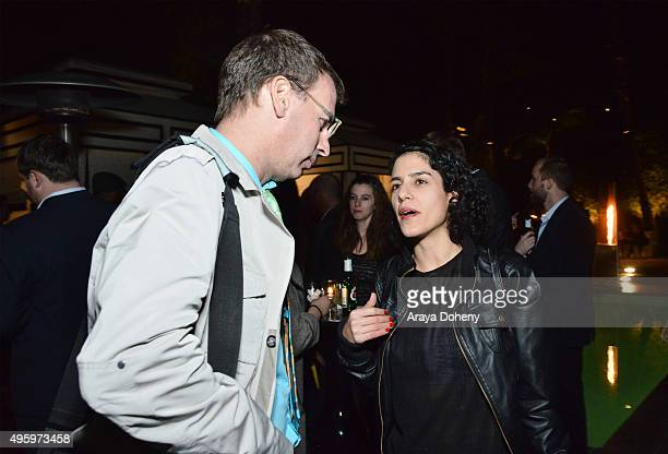 Guests attend the Covert Media American Film Market Cocktail Party at the Viceroy Hotel on November 5 2015 in Santa Monica California