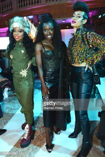 Guests attend the District of Fashion Fall/Winter 2019 Runway Show on February 07 2019 at the National Museum of Women in the Arts in Washington DC