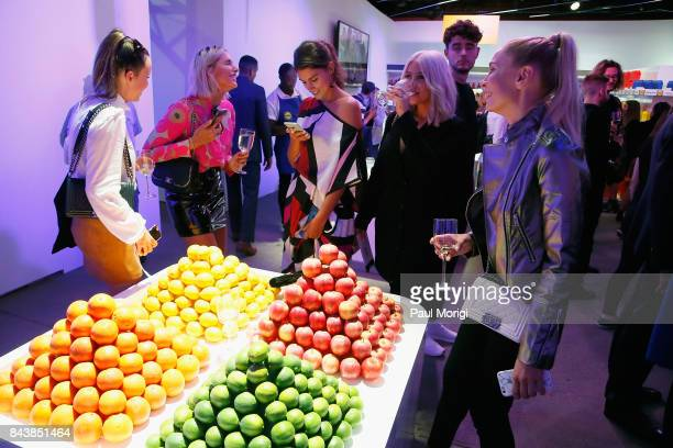 Guests attend the Esmara By Heidi Klum Lidl Fashion Presentation at New York Fashion Week #Letswow at ArtBeam on September 7 2017 in New York City