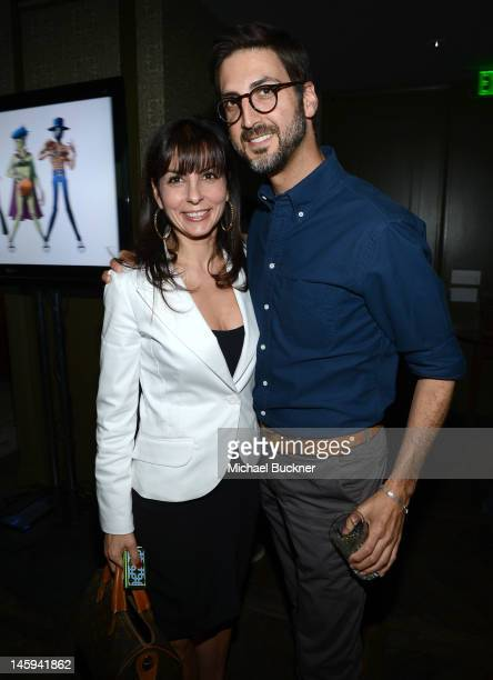 Guests attend the Fast Company celebration of the launch of CoCreate presented by Cartier on June 7 2012 in West Hollywood California