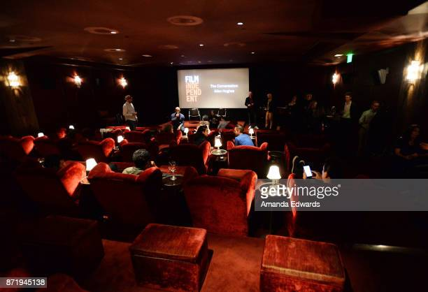 Guests attend the Film Independent Presents The Conversation: Allen Hughes event at Soho House on November 8, 2017 in West Hollywood, California.