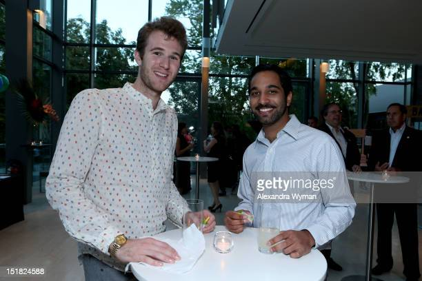 Guests attend the FINCA Canada Fundraiser At TIFF 2012 during the Toronto International Film Festival on September 11 2012 in Toronto Canada