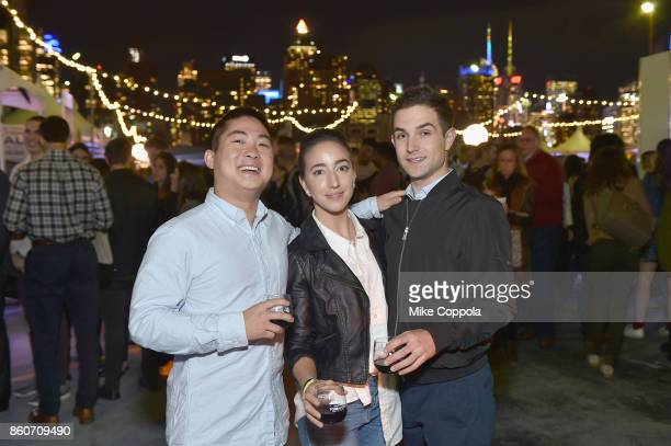 Guests attend The Food Network & Cooking Channel New York City Wine & Food Festival Presented By Coca-Cola - Smorgasburg presented by Thrillist...