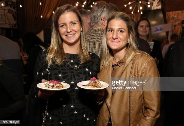 Guests attend the Food Network Cooking Channel New York City Wine Food Festival Presented By CocaCola Tacos Tequila presented by Tequila Cazadores...