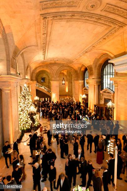 Guests attend the Fourth Annual Berggruen Prize Gala celebrating 2019 Laureate Supreme Court Justice Ruth Bader Ginsburg In New York City on December...