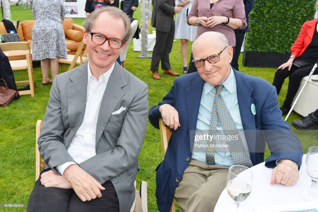 Guests attend the Franklin D. Roosevelt Four Freedoms Park's gala honoring Founder Ambassador William J. Vanden Heuvel at Franklin D. Roosevelt Four Freedoms Park on June 13, 2018 in New York City.
