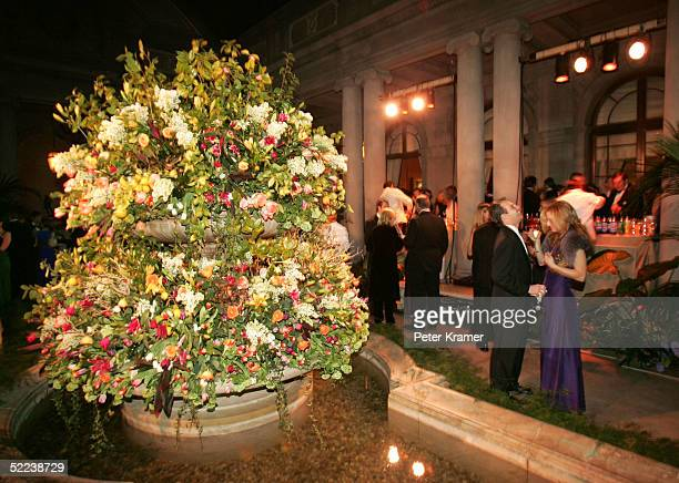 Guests attend The Frick collection annual winter ball A Dance In The Golden Age which benefits the museums education program on February 24 2005 in...