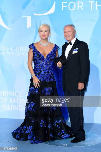 Guests attend the Gala for the Global Ocean hosted by H.S.H. Prince Albert II of Monaco at Opera of Monte-Carlo on September 26, 2019 in Monte-Carlo,...