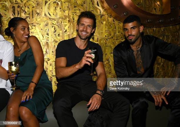 Guests attend the Genesis Presents The Official Harper's Bazaar Icons GSeventies After Party at 1OAK on September 7 2018 in New York City