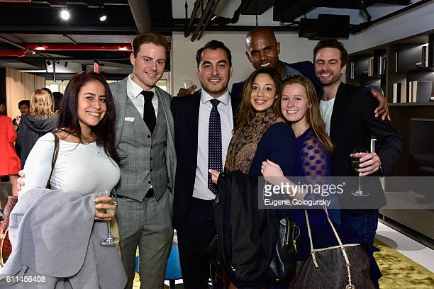 Guests attend the grand opening of Poliform NYC flagship on Madison Avenue on September 29 2016 in New York City