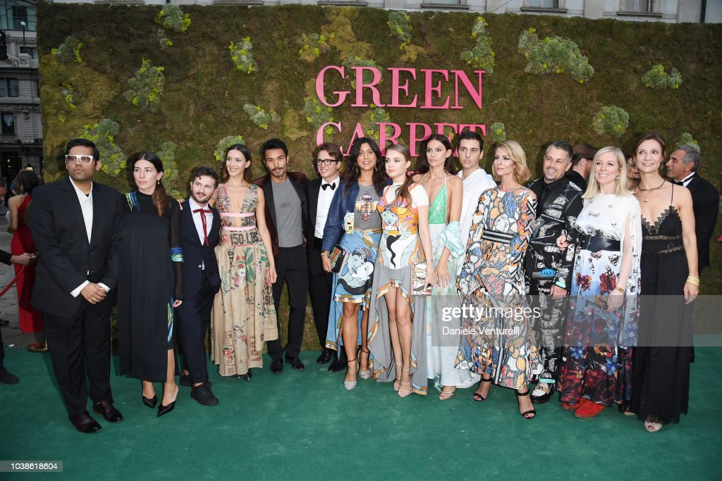 Green Carpet Fashion Awards Italia 2018
