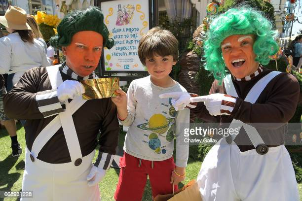Guests attend The Grove Hosts Golden Ticket to Imagination with MilkBookies at The Grove on April 15 2017 in Los Angeles California