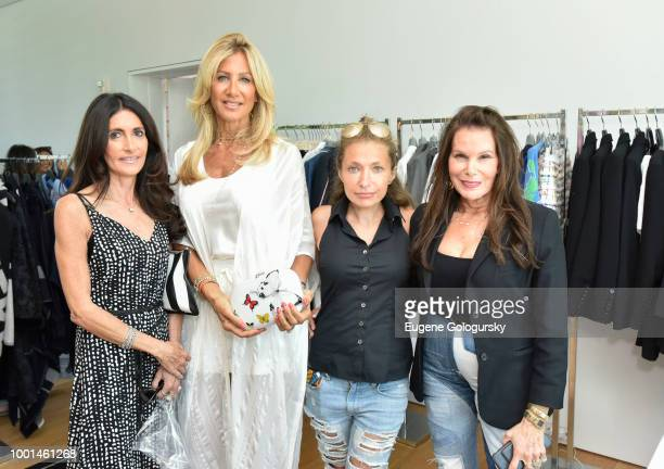 Guests attend the Hamptons Magazine London Jewelers Host A Luxury Shopping Afternoon at Topping Rose House on July 18 2018 in Bridgehampton New York