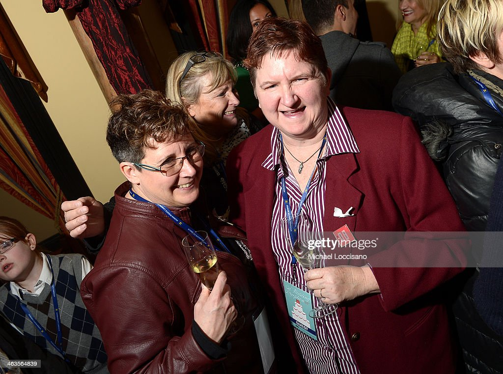 Guests attend the HBO & HRC Wedding Reception For The Case Against 8 on January 18, 2014 in Park City, Utah.