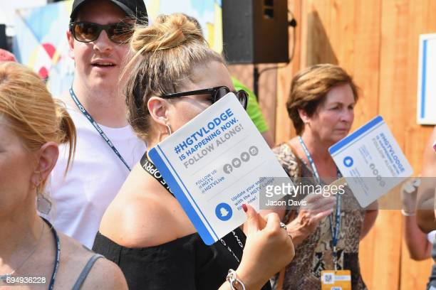Guests attend the HGTV Lodge during CMA Music Fest on June 11 2017 in Nashville Tennessee