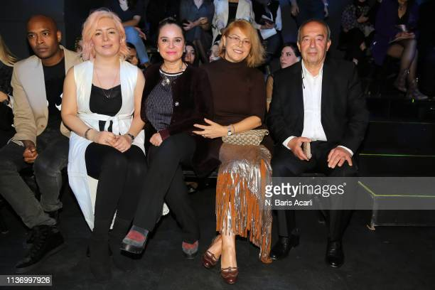 Guests attend the House Of Ogan show during MercedesBenz Fashion Week Istanbul March 2019 at Zorlu Center on March 20 2019 in Istanbul Turkey