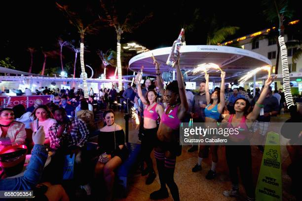 Guests Attend The House Of Stoli Takeover At Clevelander South Beach Hosted By Kent Jones
