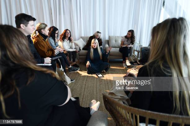 Guests attend the In goop Health Summit New York 2019 at Seaport District NYC on March 09, 2019 in New York City.