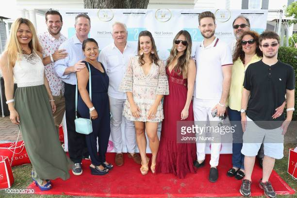 Guests attend The Inaugural Hamptons Interactive Influencer Brunch Hosted By East End Taste Produced By Ticket2Events at Topping Rose House on July...
