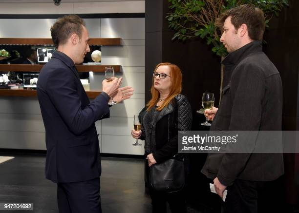 Guests attend the IWC Tribeca Film Festival Filmmaker Award Celebration on April 16 2018 in New York City