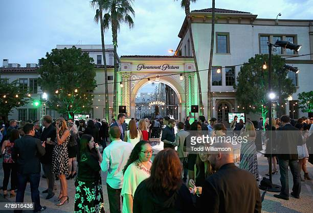 Guests attend the Jameson First Shot screening party at Paramount Studios on on June 27 2015 in Hollywood California