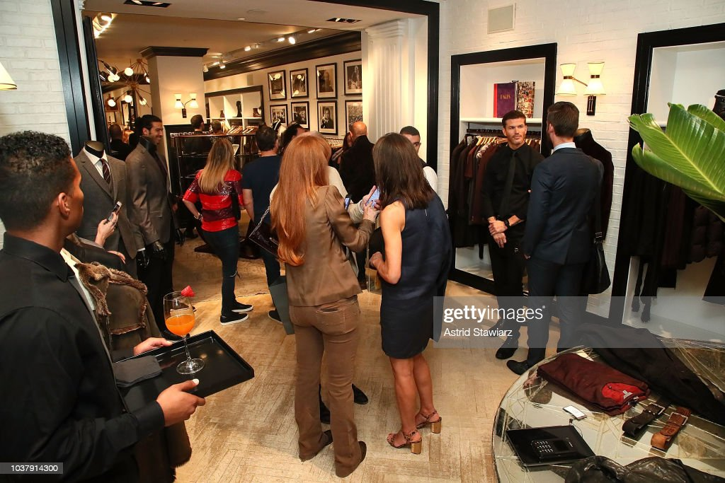 John Varvatos Madison Avenue Store Personal Appearance