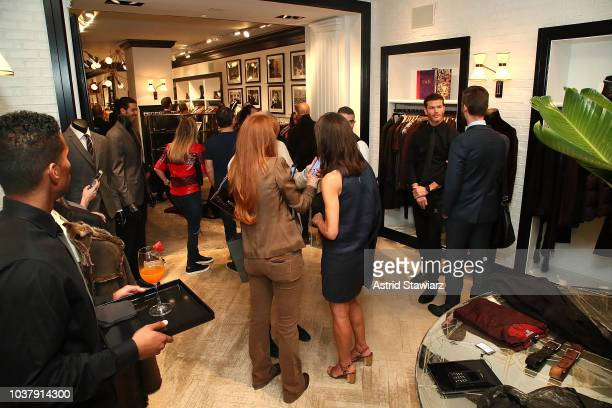 John Varvatos attends the John Varvatos Madison Avenue Store Personal Appearance on September 22 2018 in New York City