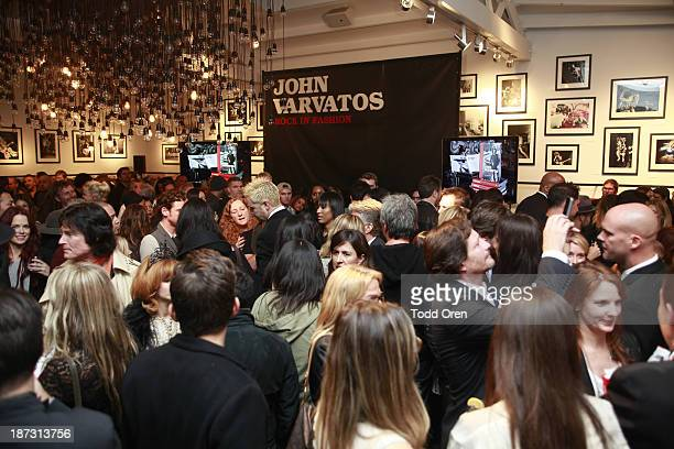 Guests attend the John Varvatos Rock In Fashion book launch celebration held at John Varvatos Los Angeles on November 7 2013 in Los Angeles California