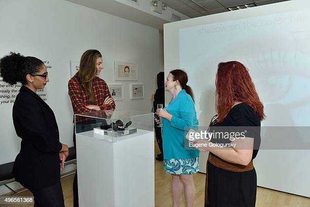 Guests attend the Kevyn Aucoin Beauty Fall/Holiday 2015 Launch on November 10 2015 in New York City
