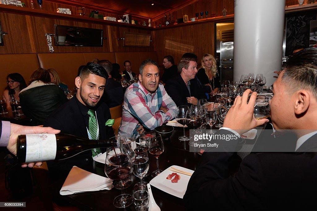 Guests attend the Las Vegas Food & Wine Festival at Bazaar Meat at SLS Las Vegas Hotel on September 15, 2016 in Las Vegas, Nevada.
