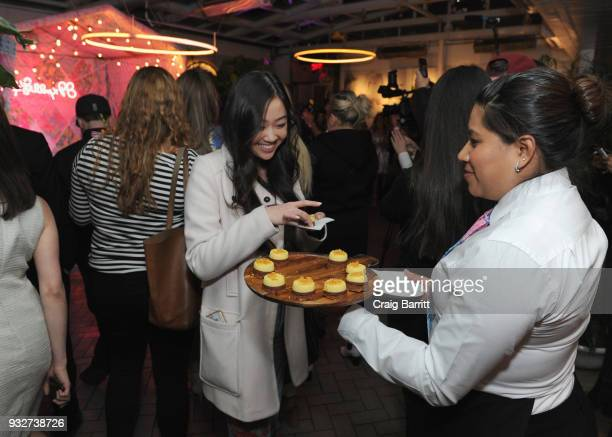 Guests attend the Launch Celebration of the Pottery Barn Pottery Barn Kids PBteen and Lilly Pulitzer Exclusive Collection on March 15 2018 in New...