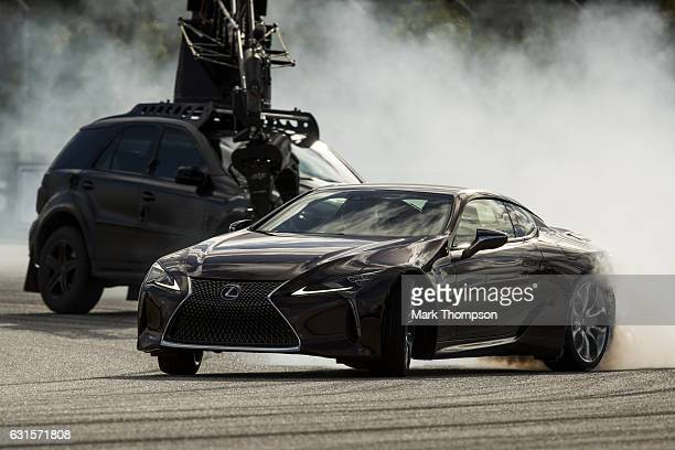 Guests attend the Lexus 'Through The Lens' event on January 12 2017 in Miami Florida The immersive experience allowed participants to use...