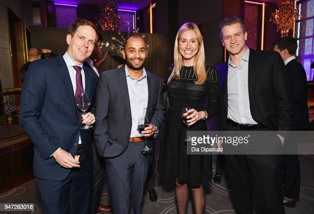 Guests attend the Lincoln Center Alternative Investment Industry Gala on April 16 2018 at The Rainbow Room in New York City