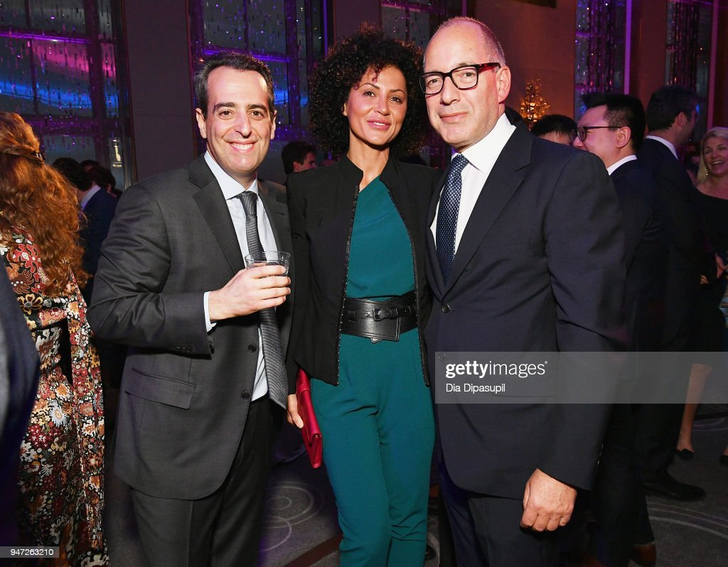 Guests attend the Lincoln Center Alternative Investment Industry Gala on April 16, 2018 at The Rainbow Room in New York City.