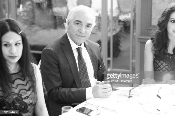 Guests attend the Liu Lisi Charity Gala Dinner with Unicef at Hotel Plaza Athenee on July 5 2018 in Paris France