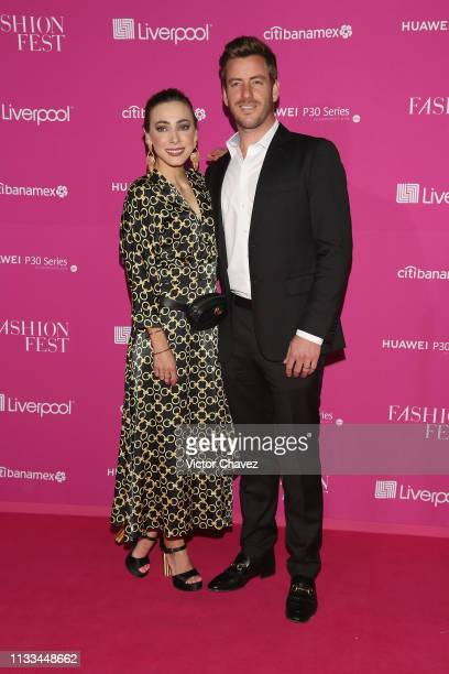 Guests attend the Liverpool Fashion Fest Spring/Summer 2019 at Quarry Studios on March 28 2019 in Mexico City Mexico