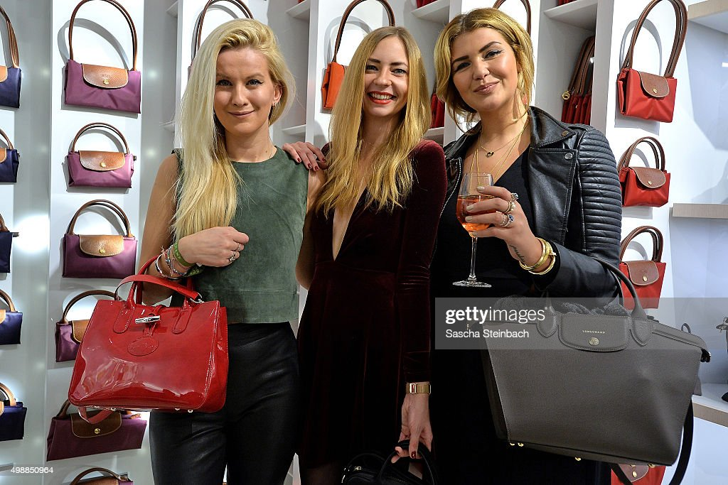Guests attend the Longchamp store opening on November 26, 2015 in Cologne, Germany.
