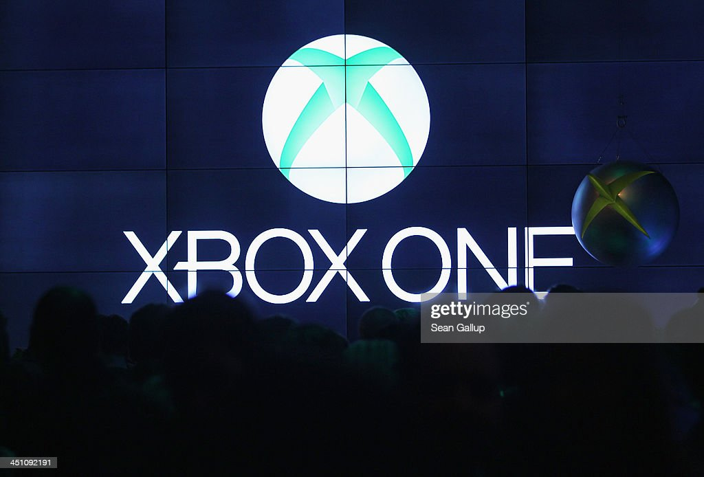 Guests attend the Microsoft Xbox One launch party at the Microsoft Center on November 21, 2013 in Berlin, Germany. Microsoft is launching the new console to compete against the new Sony Playstation 4 ahead of Christmas.