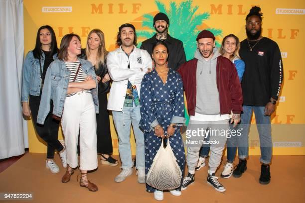 Guests attend the 'MILF' Premiere at Cinema Gaumont Capucine on April 17 2018 in Paris France