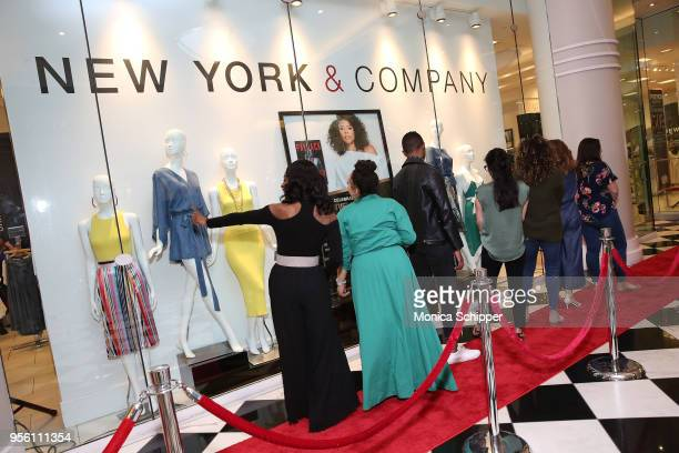 Guests attend the New York Company x Breaking In Partnership on May 8 2018 in New York City